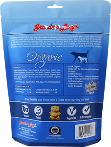 Grandma Lucy's:  Oven Baked Dog Treats - Blueberry