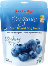 Load image into Gallery viewer, Grandma Lucy's:  Oven Baked Dog Treats - Blueberry