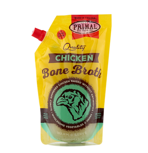 Primal:  Bone Broth 20oz. (IN-STORE OR CURBSIDE PICKUP ONLY)