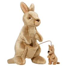 Load image into Gallery viewer, Fluff & Tuff:  Phoebe & Joey Kangaroo