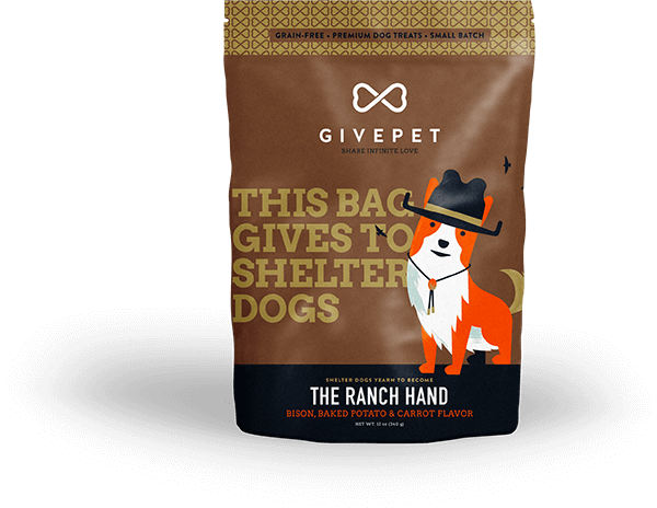 Givepet:  The Ranch Hand Grain-Free Treats