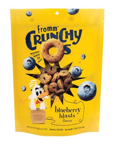 Fromm Grain Free Crunchy O's Blueberry Blasts