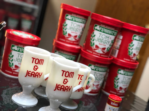 Flaherty's Famous Tom & Jerry Batter, available online and in stores.