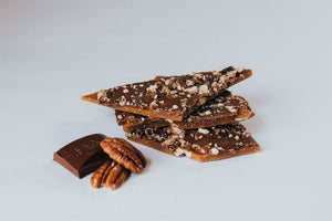 Emerald Isle Toffee - Milk Chocolate & Toasted Pecans