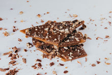Load image into Gallery viewer, Emerald Isle Toffee - Milk Chocolate & Toasted Pecans