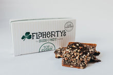 Load image into Gallery viewer, Top O' Evenin' Toffee - Darker Chocolate & Toasted Pecans - 1/2 lb. Box