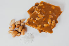 Load image into Gallery viewer, Ashford Castle Salted Cashew Butter Brittle