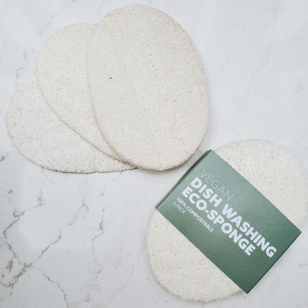 Biodegradable Eco-Sponges 3 Pack