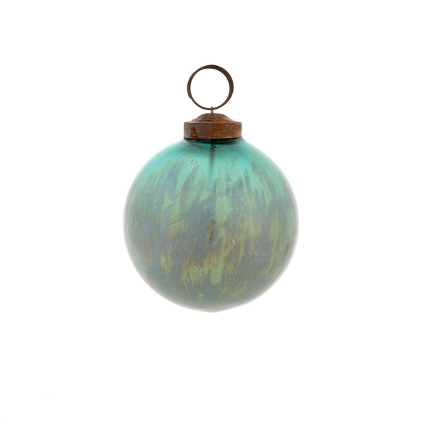 Marbled Turquoise Ornament