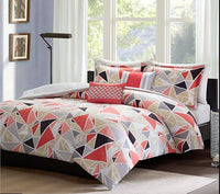 Geo Duvet Cover Set - Queen