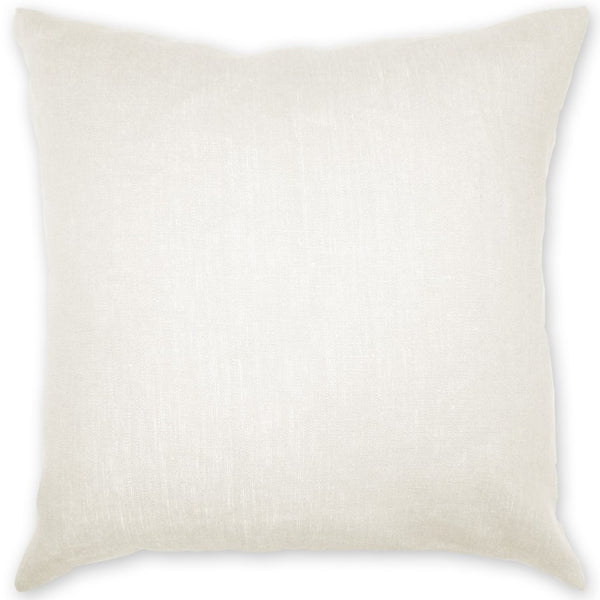 Luxe Linen Pillow Ivory