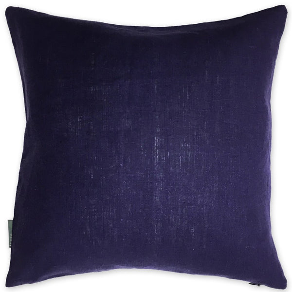 Luxe Linen Pillow Purple