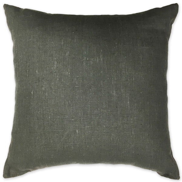 Luxe Linen Pillow Grey