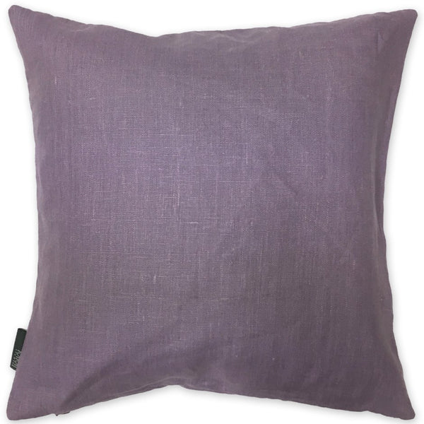 Luxe Linen Pillow Lilac