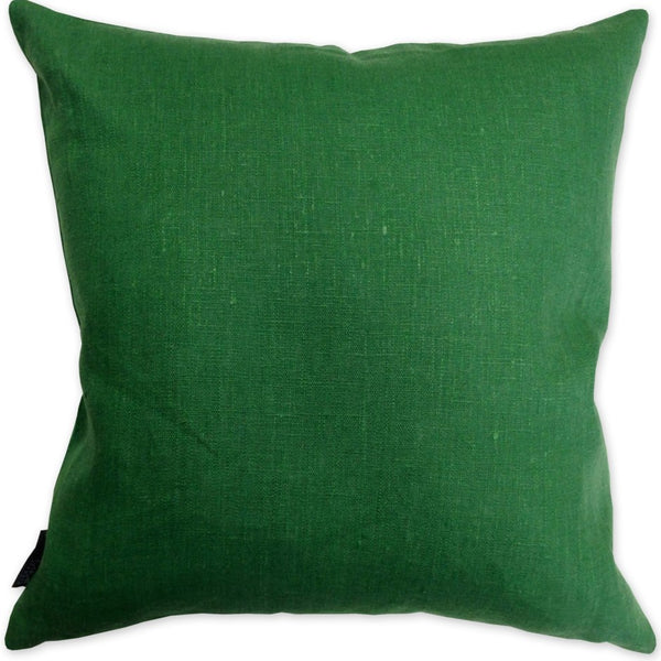 Luxe Linen Pillow Emerald