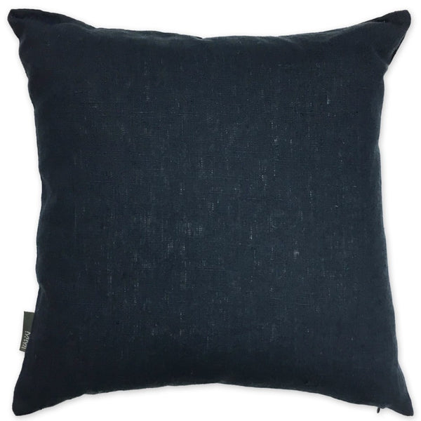 Luxe Linen Pillow Navy