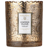 Voluspa COPPER CLOVE Scalloped Edge