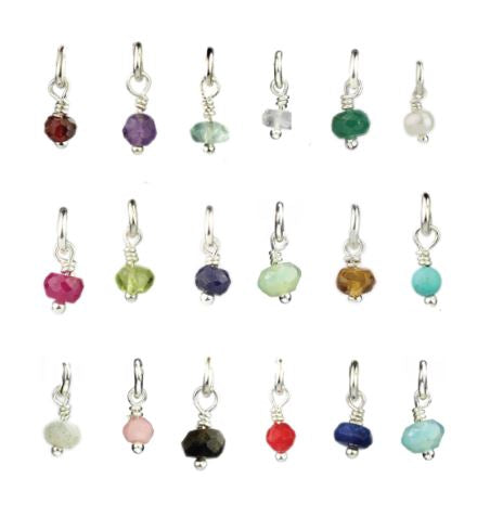 Mini Gemstone Charm