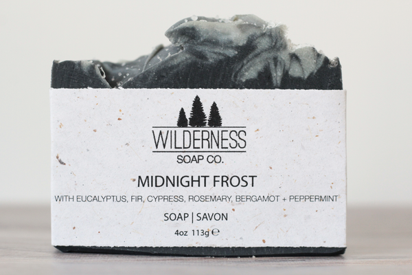Midnight Frost Soap