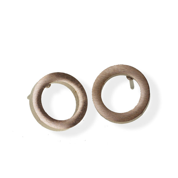 Open Circle Earring