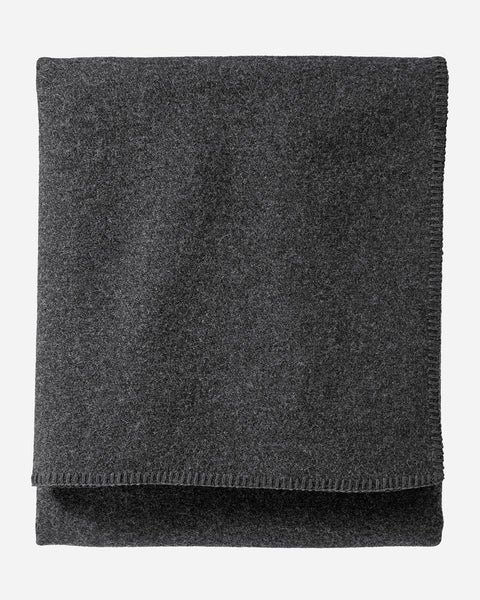 Eco-Wise Wool Blanket Charcoal