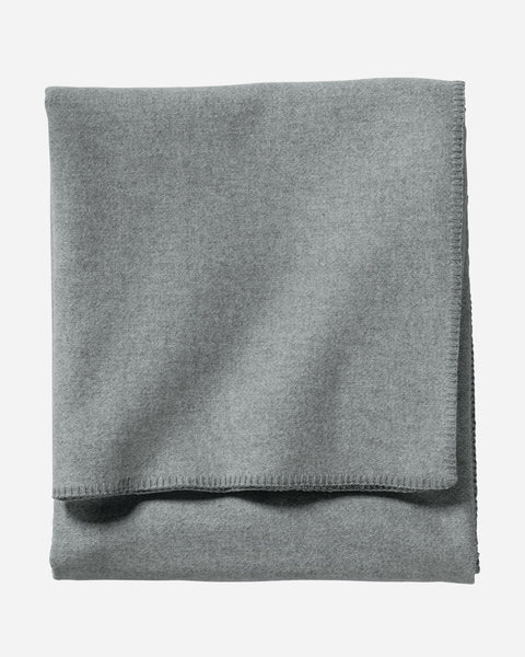 Eco-Wise Wool Blanket Heather Grey