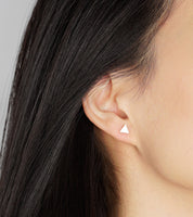Small Triangle Earring