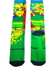Load image into Gallery viewer, Yellow Poui Socks $TTD