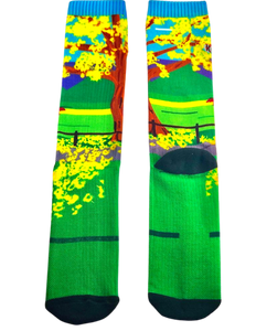 Yellow Poui Socks $TTD