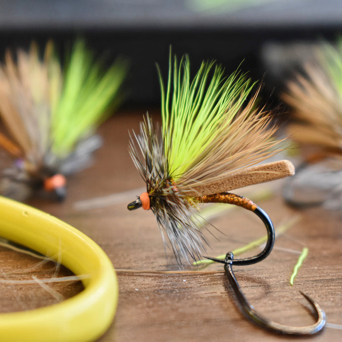 Crafting and Fishing Unique Flies