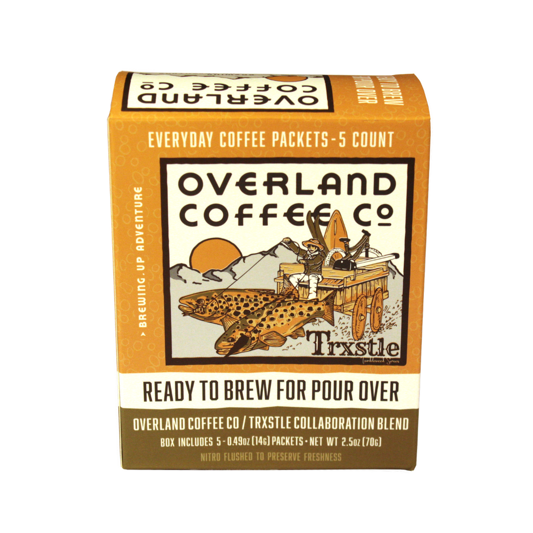 Pour Over Coffee Packs - TRXTLE - Overland Coffee Co.