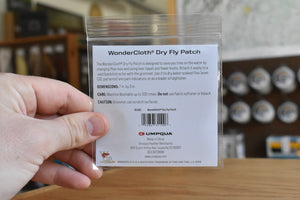 Wondercloth Dry Fly Patch