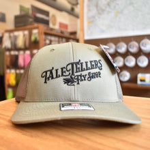 Load image into Gallery viewer, TaleTellers Vintage Logo - Trucker Hat - Olive