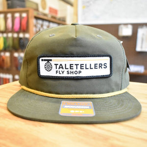 TaleTellers Olive Rope Hat