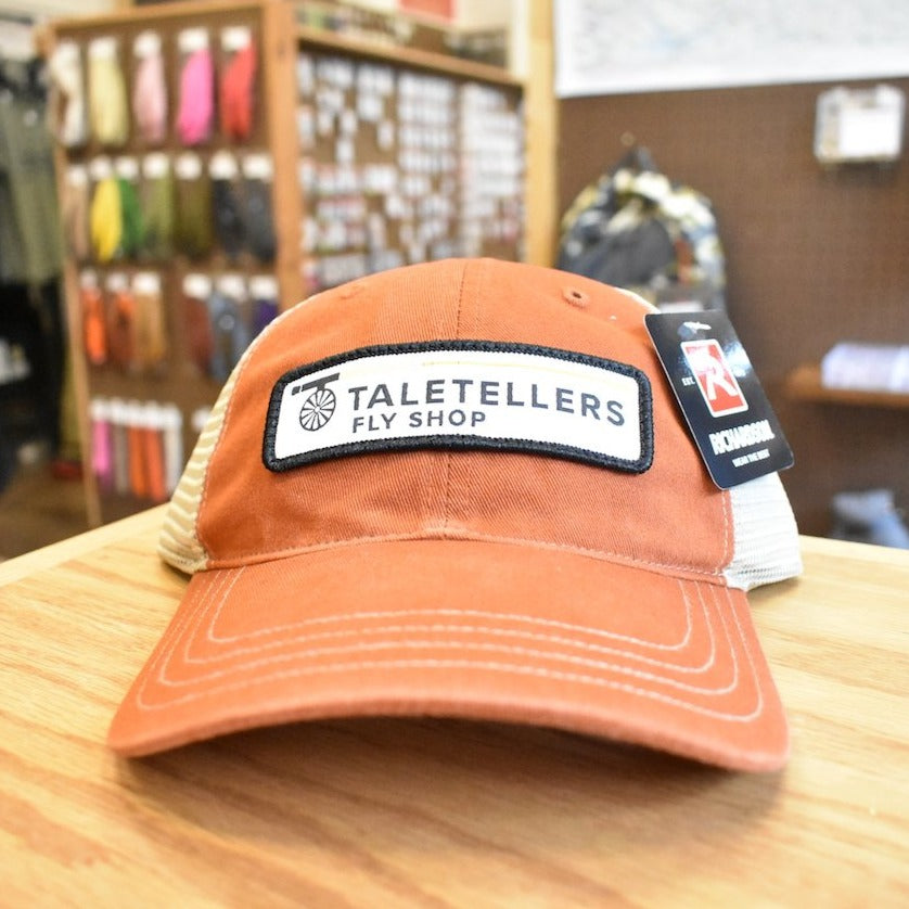 TaleTellers Orange/Khaki Trucker Hat