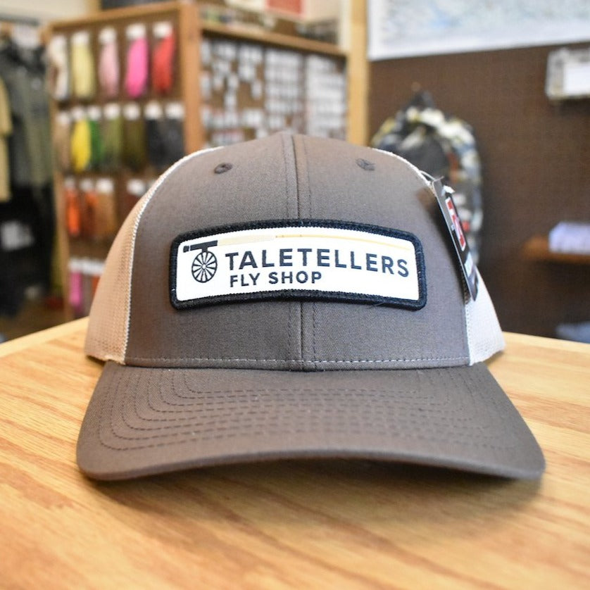 TaleTellers Brown/Khaki Trucker Hat