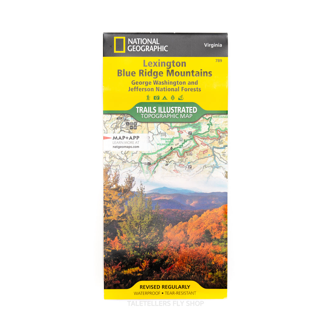 Map - National Geographic Topographic Map