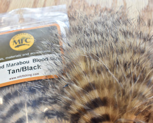 Barred Marabou Blood Quill - MFC