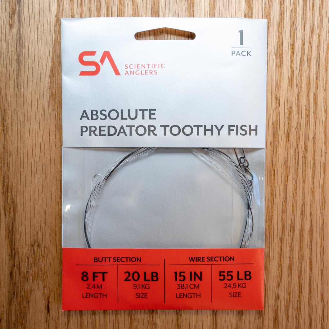 Absolute Predator - Toothy Fish - Wire - Scientific Anglers