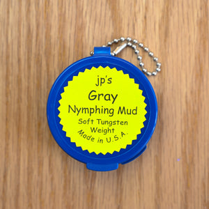 JP's Gray Nymphing Mud - Tungsten Putty