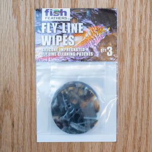 Fly Line Wipes - Fish and Feather