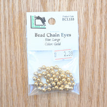 Load image into Gallery viewer, Bead Chain Eyes - Hareline