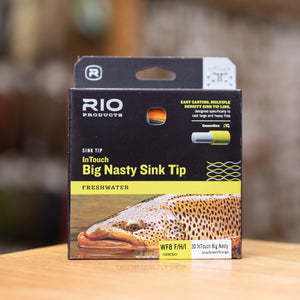 Big Nasty Sink Tip - F/H/I - Rio Products