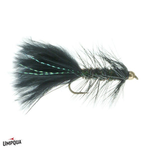 Wooly Bugger - Gold Bead - Peacock/Black