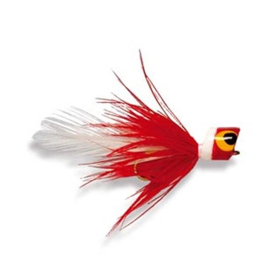 Bluegill Popper (Red/White)