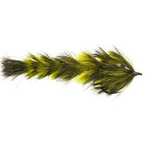 Olive/Yellow - Feather Game Changer - Fly Men Fishing Company