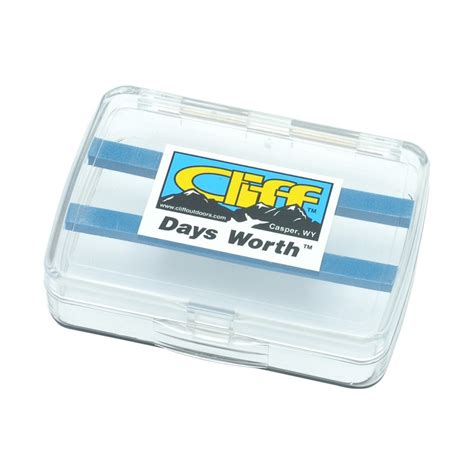 Cliff Day's Worth - Fly Box