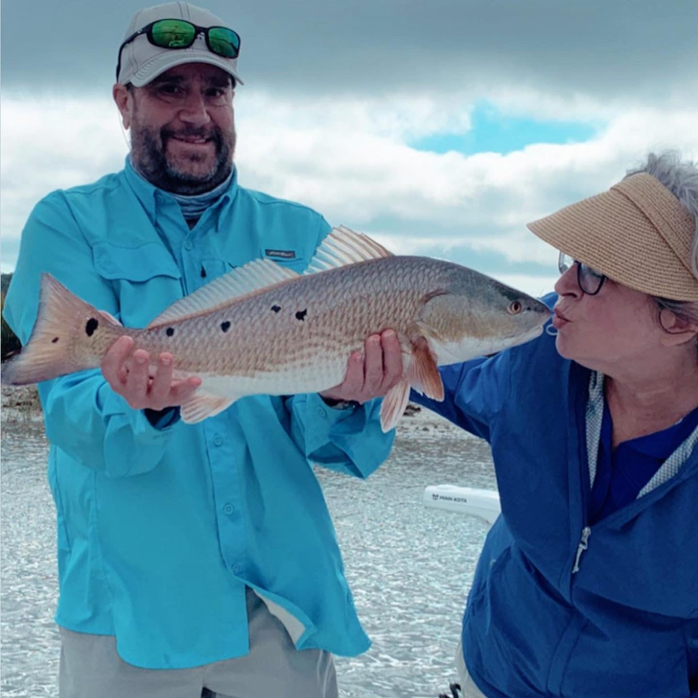 Catching Redfish = Happy Clients!