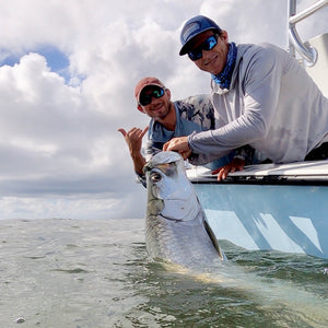 It's 100 Percent Tarpon Time !