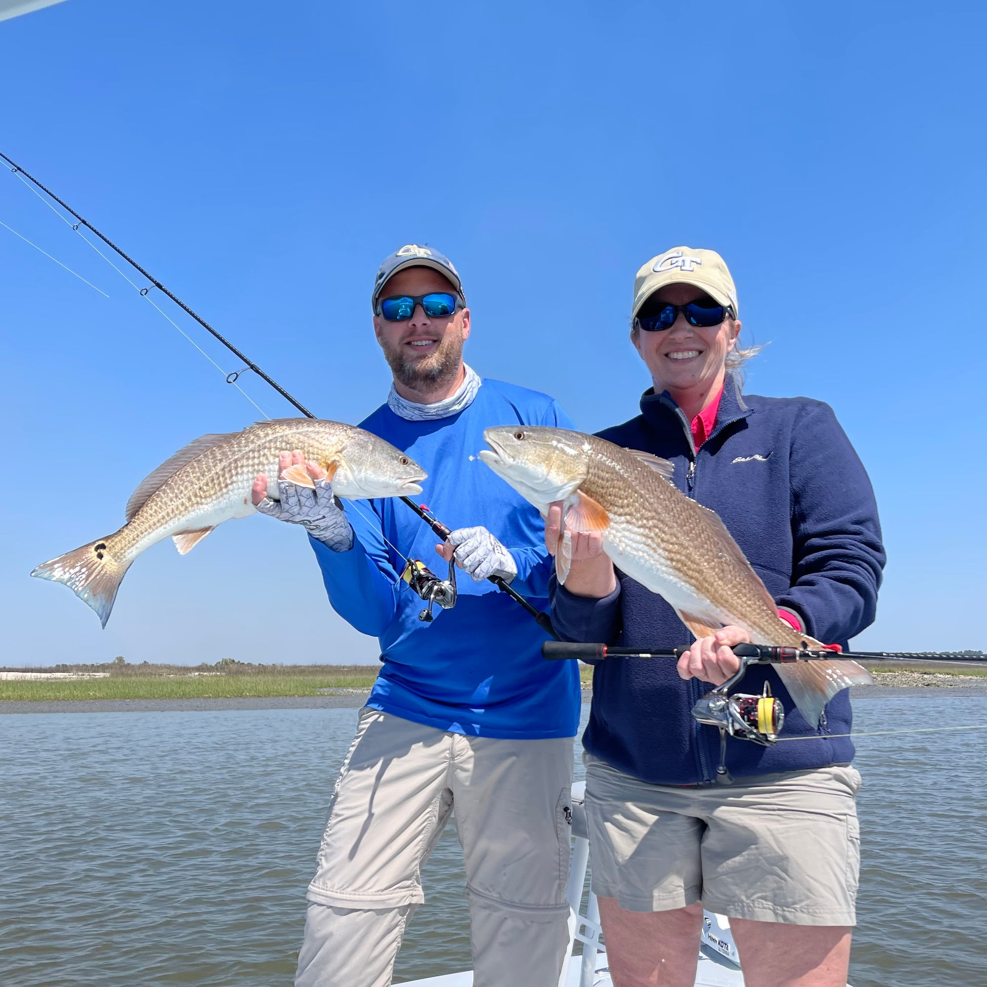 OFF THE HOOK Redfish and Trout Action